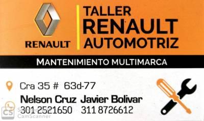 TALLER RENAULT AUTOMOTRIZ   amarilla.co
