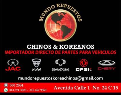 MUNDO REPUESTOS CHINOS & KOREANOS   amarilla.co