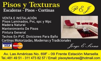 PISOS Y TEXTURAS | amarilla.co