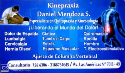 KINESIOLOGO Y QUIROPRACTICO | amarilla.co