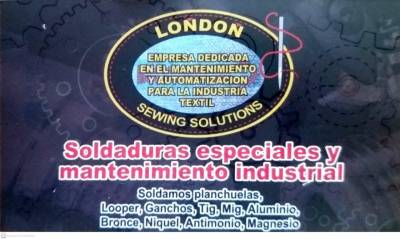 LONDON SEWING SOLUTIONS MANTENIMIENTO DE MAQUINARIA TEXTIL | amarilla.co