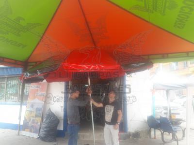parasol  Tipo sombrilla  redondo desde $ 140.000 lona verano | amarilla.co