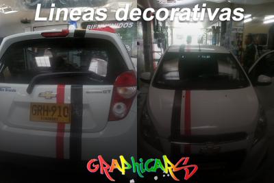 lineas decorativas laterales para carros originales personalizadas desde | amarilla.co