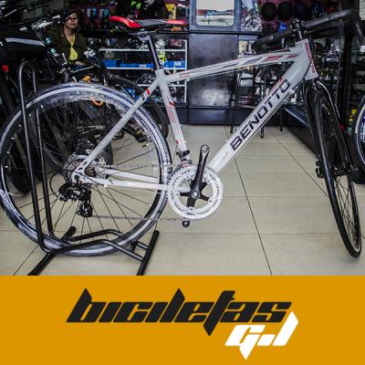bicicleta de ruta Benotto freno de disco cambios Shimano | amarilla.co