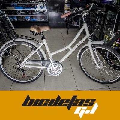 bicicleta playera rin 26 marco y tenedor en aluminio | amarilla.co