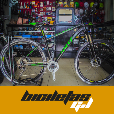 bicicleta todo terreno rin 27 gw hawk | amarilla.co