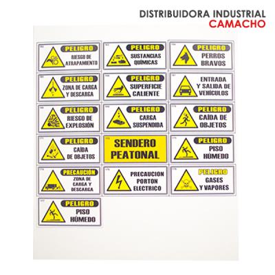SEÑALES ESTABLECIDAS DE 15X30 CM | amarilla.co