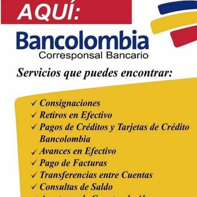 Corresponsal Bancolombia | amarilla.co