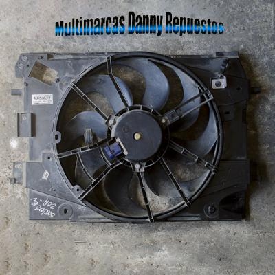 Electro ventilador completo renault logan / sandero   amarilla.co