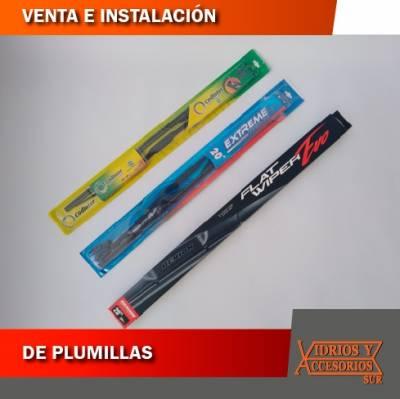 VENTA E INSTALACIÓN DE PLUMILLAS | amarilla.co