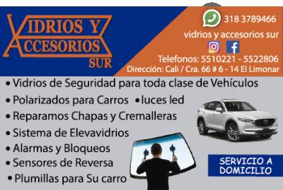 VIDRIOS Y ACCESORIOS PARA CARROS CALI | amarilla.co