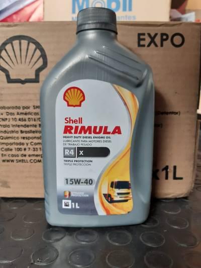 Lubricante para motores diesel para trabajo pesado RIMULA 15W40 | amarilla.co
