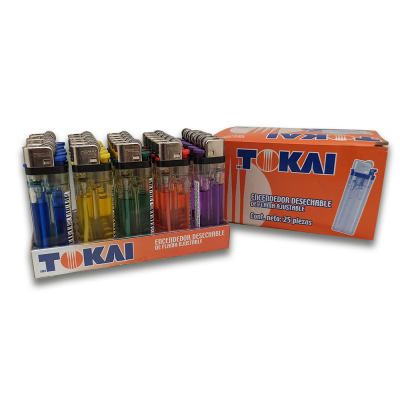 encendedor TOKAI por 25 unidades | amarilla.co