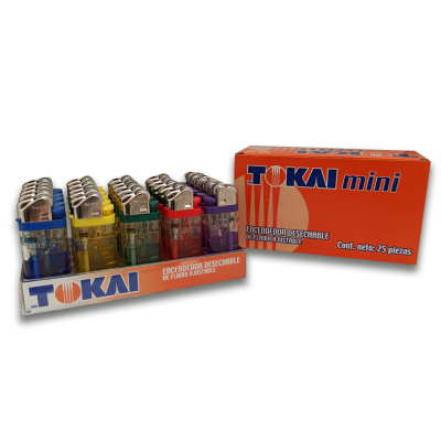 encendedor TOKAI mini por 25 unidades | amarilla.co