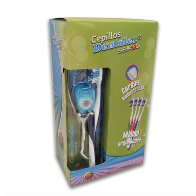 KIT DE CEPILLO DENTAL por 12 unidades | amarilla.co