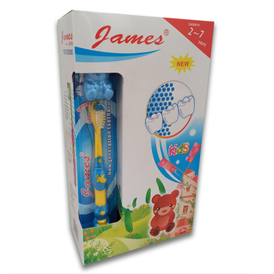 CEPILLO DENTAL PARA NIÑOS MARCA JAMES POR 12 UNIDADES | amarilla.co