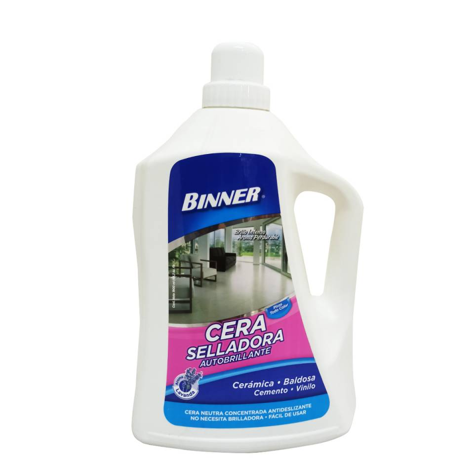 CERA SELLADORA AUTOBRILLANTE MARCA BINNER 1900ML | amarilla.co