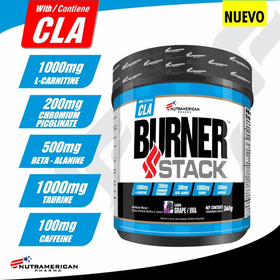 Burner Stack Con Cla Y L-carnitina | amarilla.co