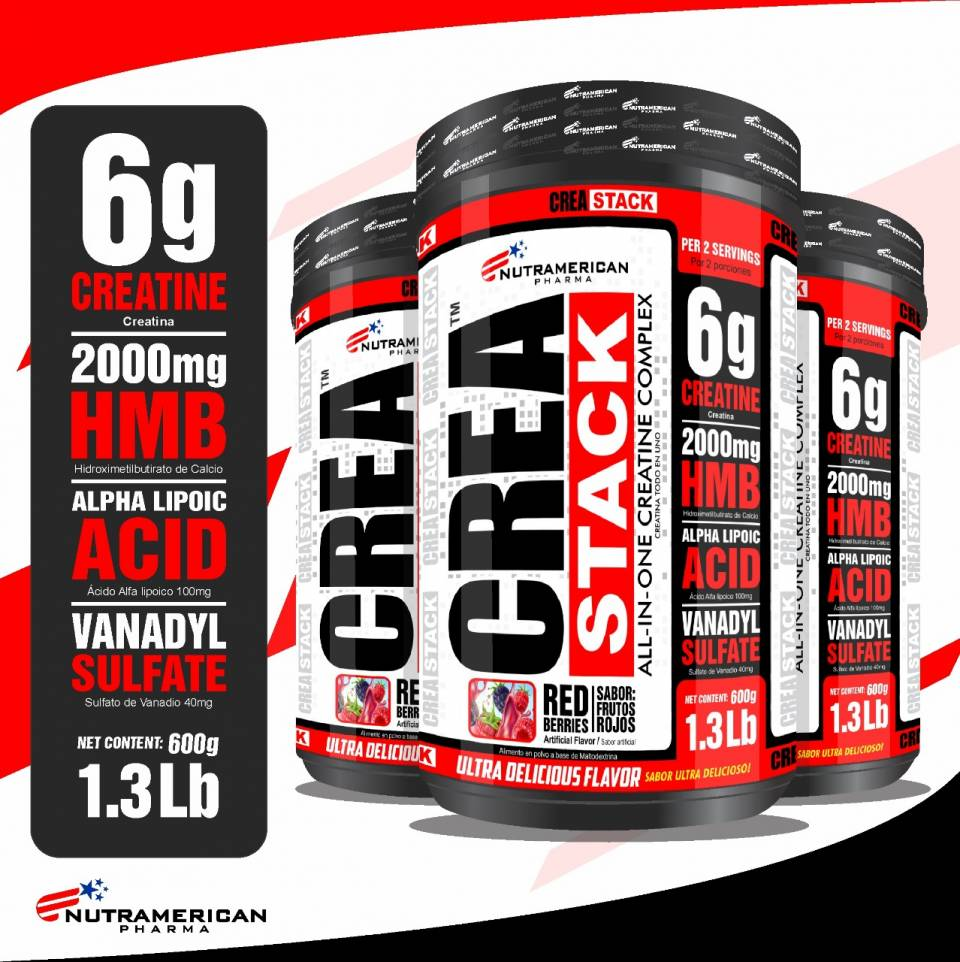 CREATINE CREA STACK MEGAPLEX | amarilla.co