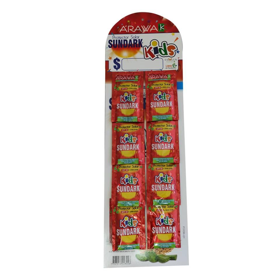 BLOQUEADOR ARAWAK KIDS POR SACHETS DE 10 GRAMOS SPF60 | amarilla.co