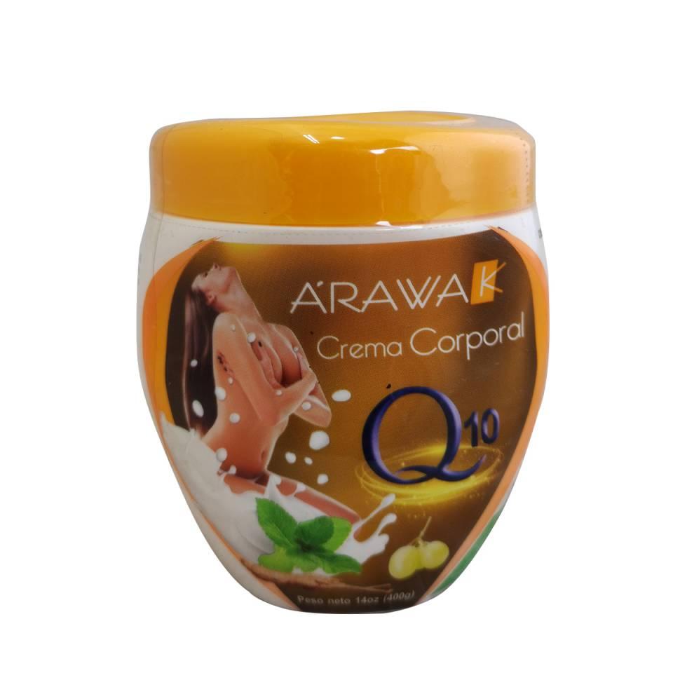 CREMA CORPORAL Q10 ARAWAK 400 GRAMOS | amarilla.co