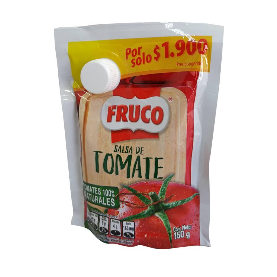 SALSA DE TOMATE FRUCO POR 150 GRAMOS | amarilla.co