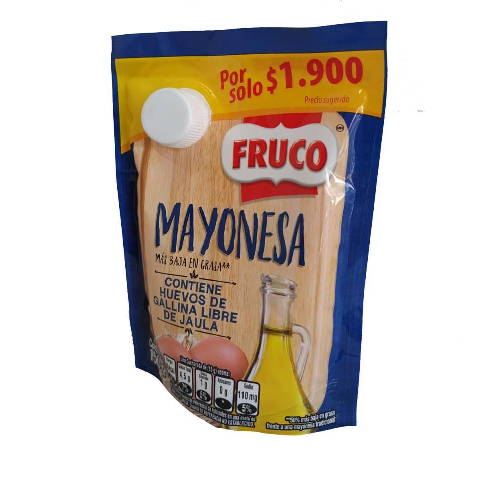 MAYONESA FRUCO POR 150 GRAMOS | amarilla.co