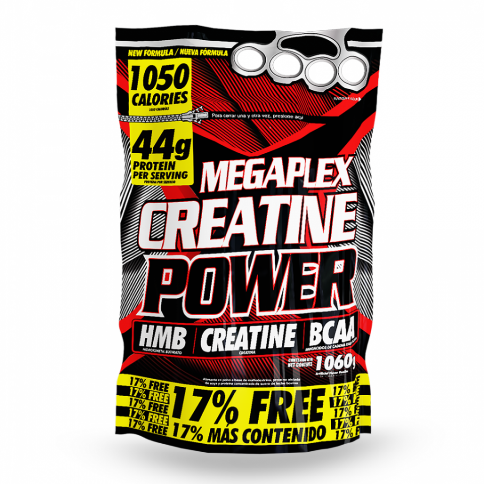 Megaplex Creatine Power 2 Libras | amarilla.co