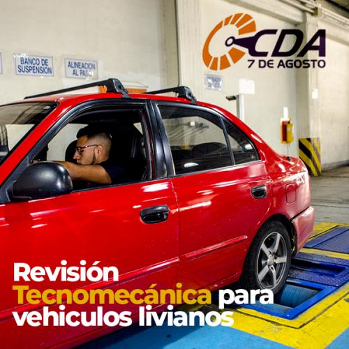 Revisión técnico mecánica livianos particulares 0 - 2 AÑOS modelos  2002 y años anteriores | amarilla.co