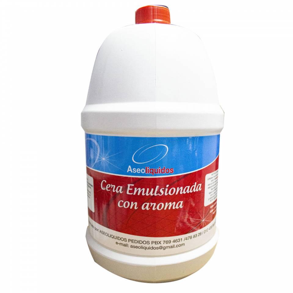Cera emulsionada con aroma. 3800 ml | amarilla.co