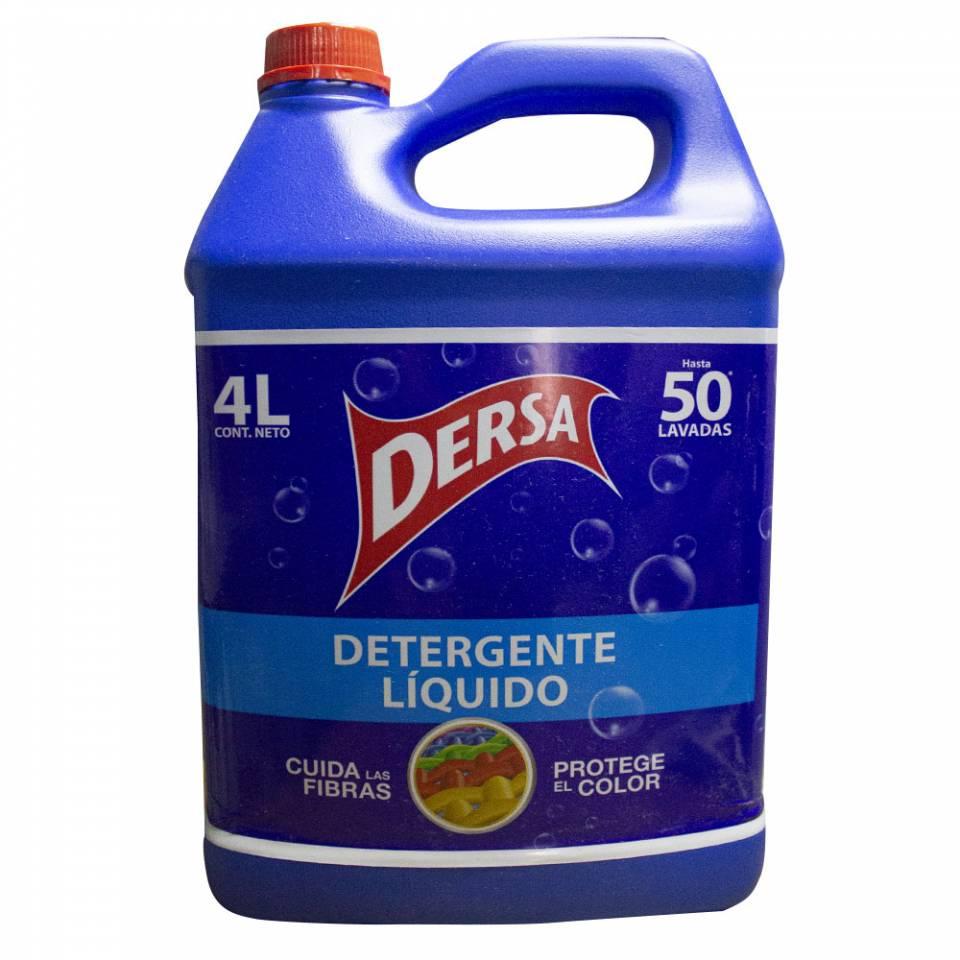 detergente líquido Dersa 4 litros | amarilla.co