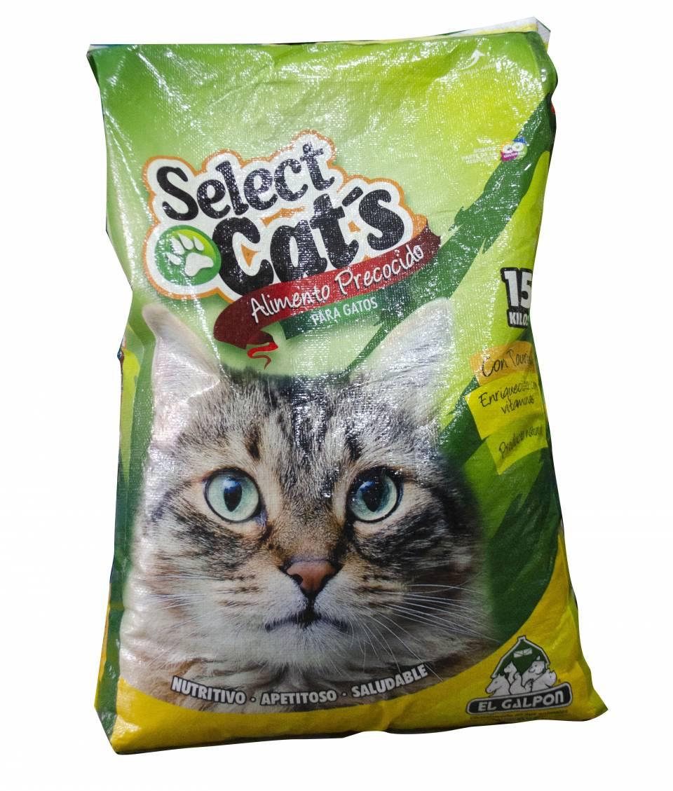 Select Cat's alimento precocido para gatos x 15 kilos | amarilla.co