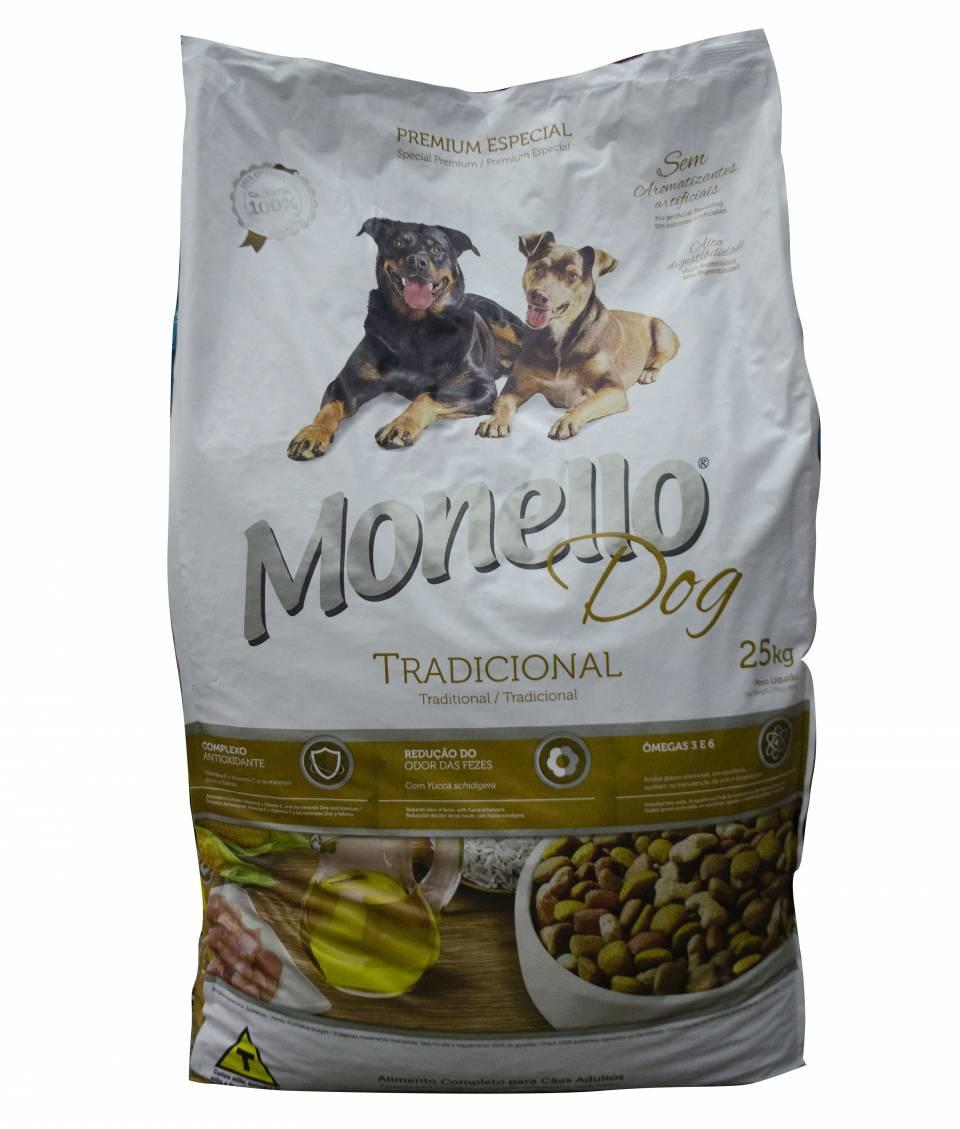 Monello Dog Tradicional Adulto X 25 Kg | amarilla.co