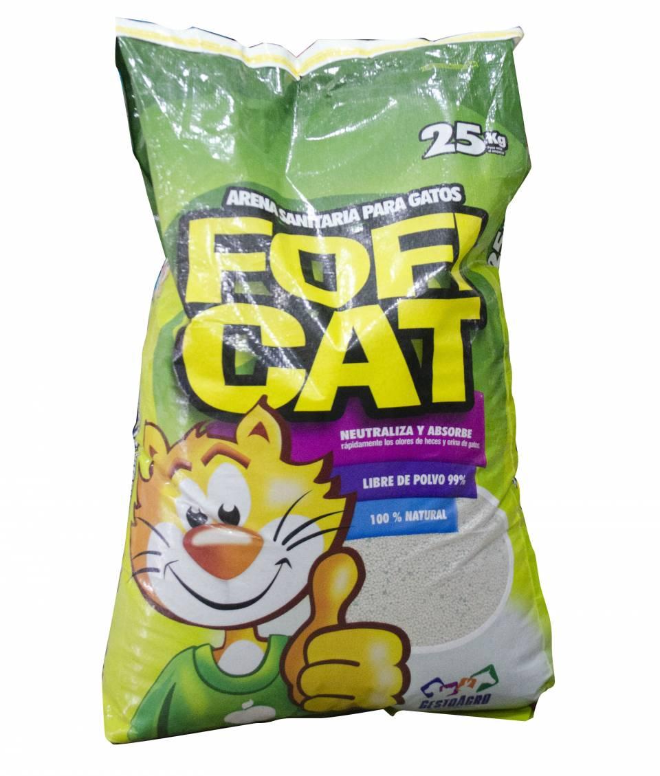 Arena sanitaria para gatos Fofi Cat 25 kilos | amarilla.co