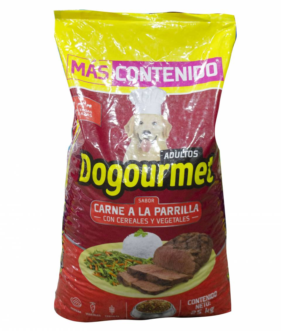 Dogourmet Adultos carne a la parilla x 25 kilos | amarilla.co
