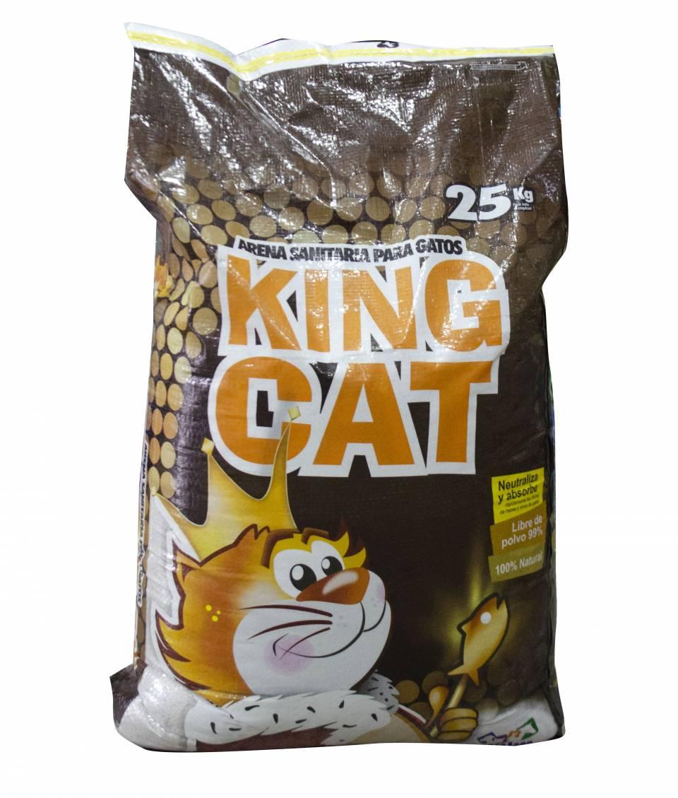 Arena Sanitaria para gatos King Cat x 25 kilos | amarilla.co