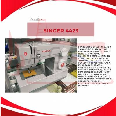 Maquina de coser Familiar Singer 4423 | amarilla.co