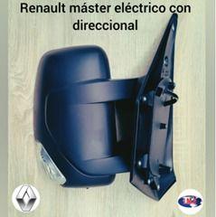 espejo retrovisor renault master electrico con direccional | amarilla.co