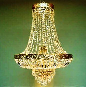 Lámpara Manto strass Dorado | amarilla.co