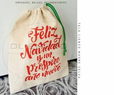 BOLSA Feliz Navidad - Ecologica | amarilla.co