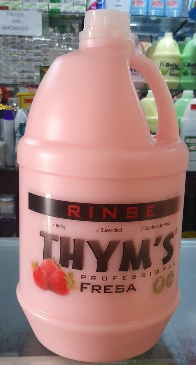 Tratamiento   para  El cabello de fresa  thym's | amarilla.co