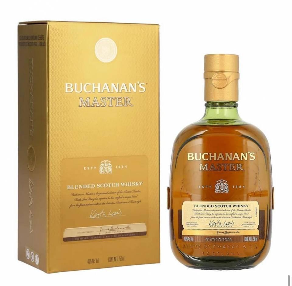 Whisky Buchanan´s Master Botella | amarilla.co