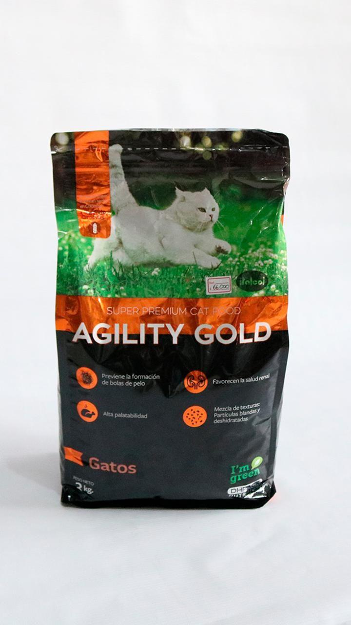 Agility Gold Super premium cat food Gatos por 3 kg | amarilla.co