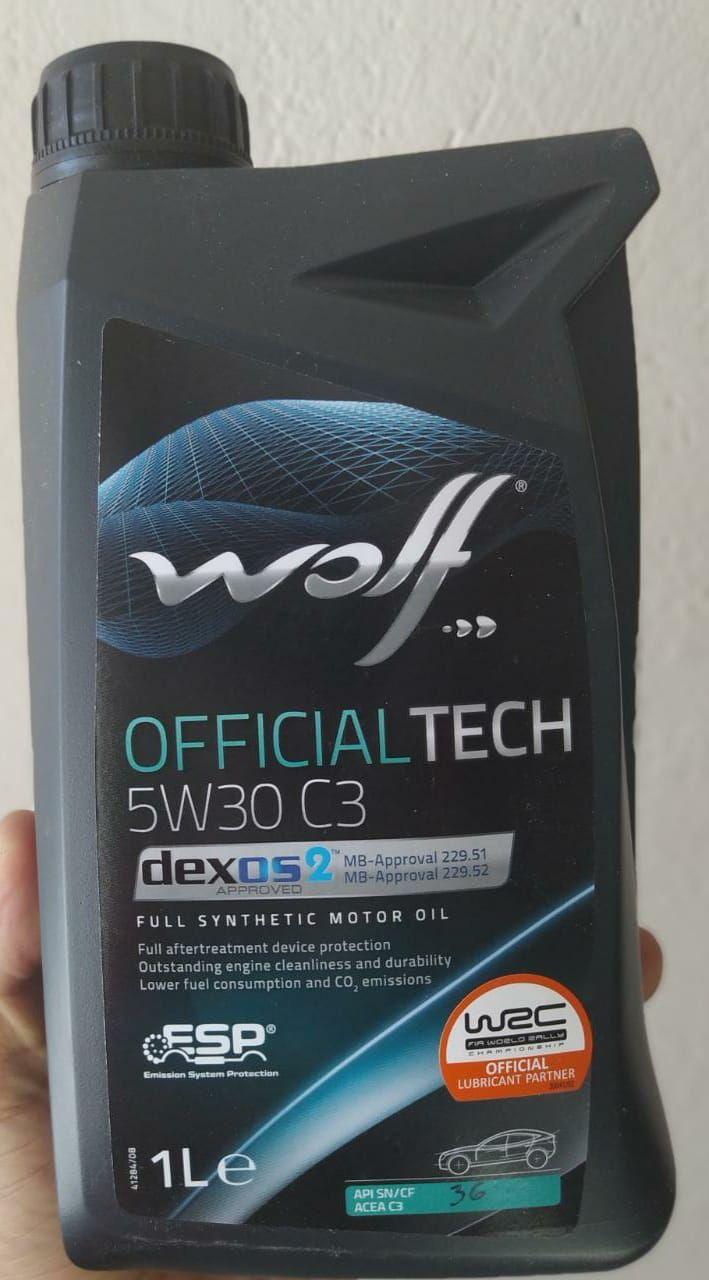 Aceite de motor wolf 5w30 | amarilla.co
